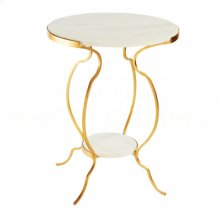 Large Portrack House Gold Garden Table No. 2
