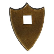Escutcheon - Brown Windsor Antique