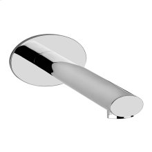 """Wall-mounted washbasin spout only Projection 7-15/16"""" 1/2"""" connections Drain not included - See DRAINS section Requires mixer control 26805 or 26909+26912 Max flow rate 1"""