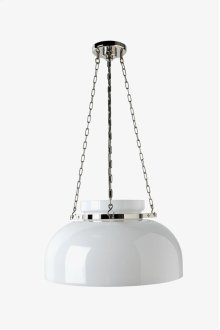 Helio Ceiling Mounted Large Pendant with Glass Shade STYLE: HOLT01