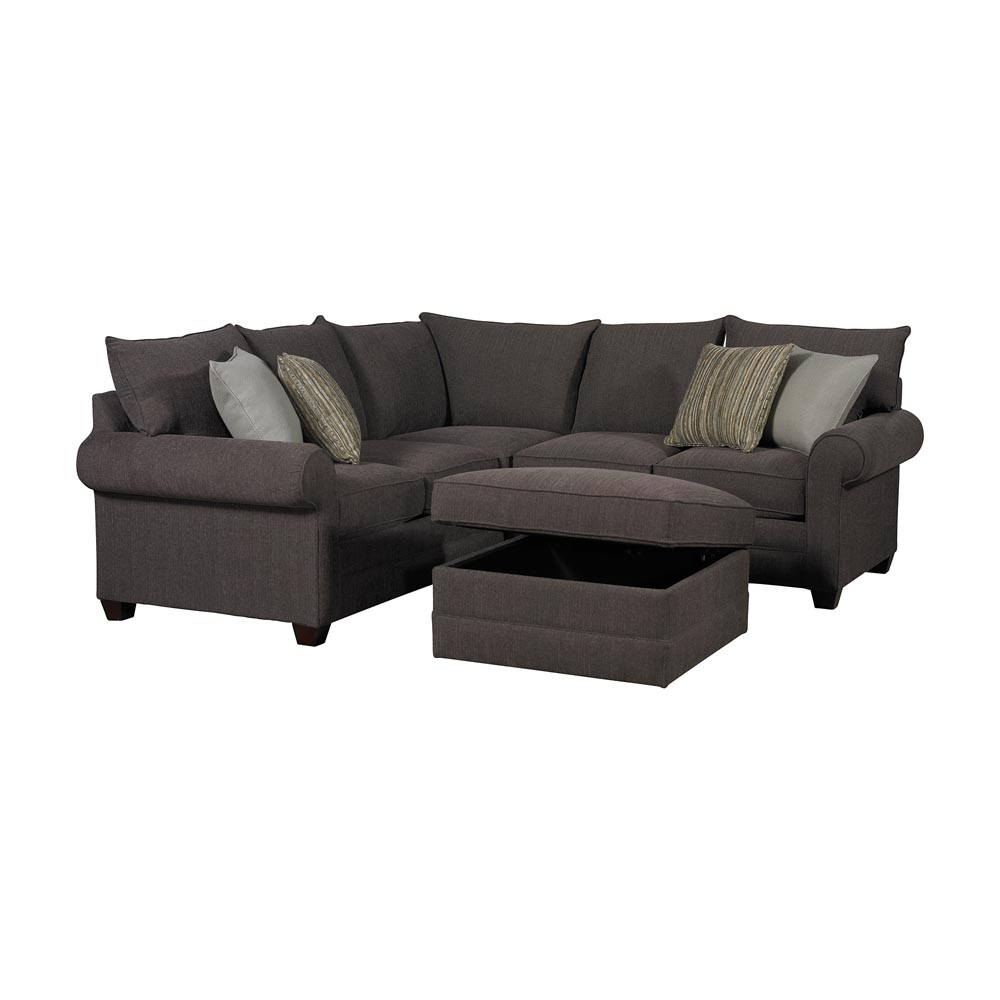 Hidden · Additional Alex L-Shaped Sectional  sc 1 st  Wender Furniture : bassett alex sectional - Sectionals, Sofas & Couches