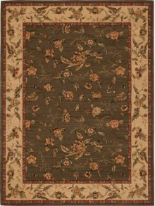 Hard To Find Sizes Grand Parterre Va01 Olive Rectangle Rug 9'6'' X 11'6''