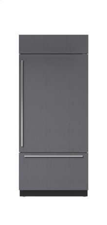"""36"""" Built-In Over-and-Under Refrigerator/Freezer - Panel Ready"""