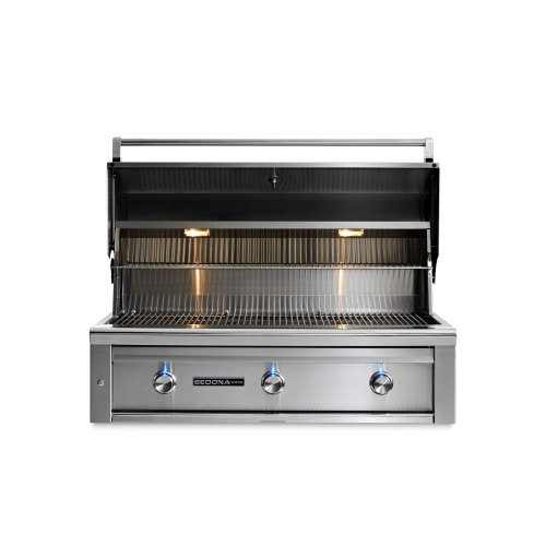 """42"""" Sedona by Lynx Built In Grill with 2 Stainless Steel Burners and ProSear Burner, LP"""