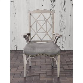 18th Century Arm Chair - Grey