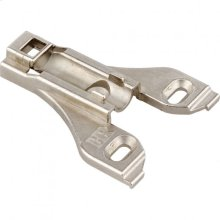 Heavy Duty 0 mm Non-Cam Adjustable Zinc Die Cast Plate without Screws for 700, 725, 900 and 1750 Series Hinges