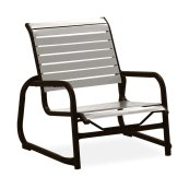 Reliance Contract Strap Stacking Sled Base Sand Chair