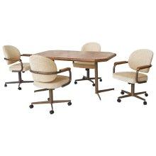 Table Base: Twin Legs (bronze)