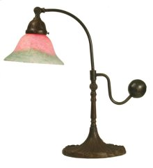 """19""""H Counter Balance Pink and Green Accent Lamp"""