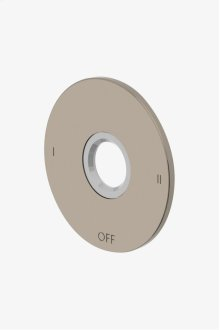 Universal Two Way Diverter Valve Trim for Thermostatic with Roman Numerals STYLE: UN2TR1