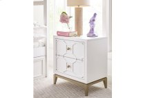 Chelsea by Rachael Ray Night Stand w/Decorative Lattice