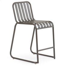 0144 Stackable Counter Stool (Charcoal)