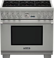 36-Inch Pro Grand® Commercial Depth Gas Range