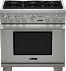36-Inch Pro Grand Commercial Depth Liquid Propane Range PRL366JG