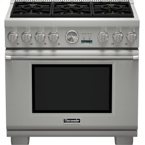 Thermador36-Inch Pro Grand® Commercial Depth Liquid Propane Range