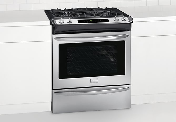 Fggs3065pf Frigidaire Gallery 30 Slide In Gas Range Stainless