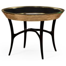Stepped Gilded Circular Centre Table