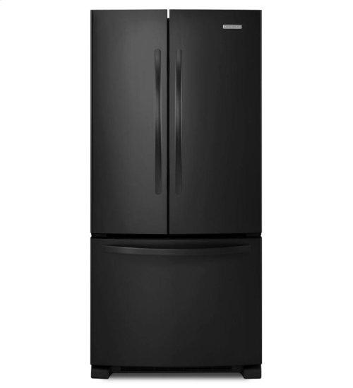 KitchenAid® 22 Cu. Ft. Standard-Depth French Door Refrigerator, Architect® Series II - Black