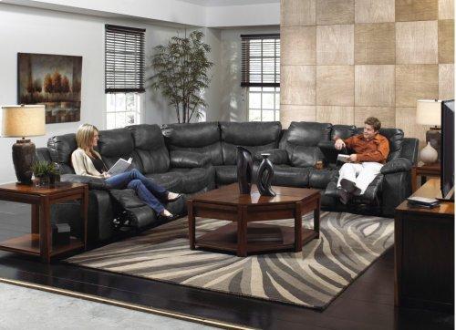 Power Reclining Sofa - Timber