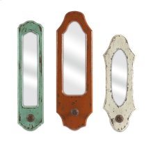 Gaylynn Mirror with Hangers - Set of 3