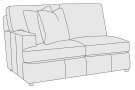 Winslow Left Arm Loveseat Product Image