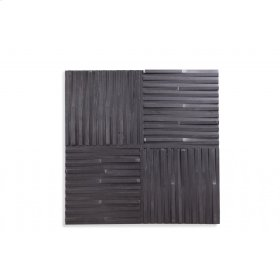 Ebonized Wall Panel