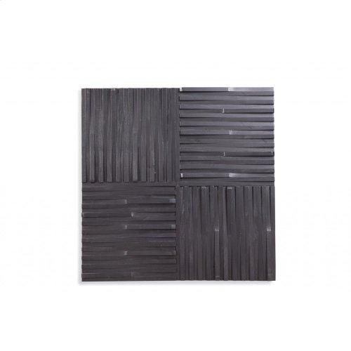 Ebonized Wall Panel