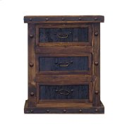 Nightstand W/Reclaimed Wood Drawers Product Image