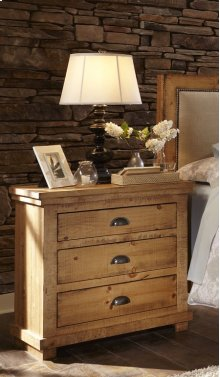 Nightstand - Distressed Pine Finish