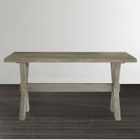"""Bench*Made Maple Crossbuck 54"""" Desk Product Image"""