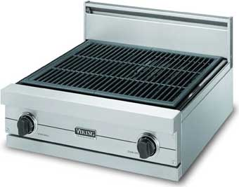 """Almond 24"""" Gas Char-Grill - VGQT (24"""" wide char-grill)"""