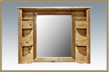 Homestead Deluxe Dresser Mirror - Stained and Lacquered