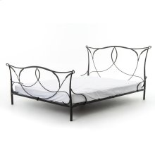 Queen Size Sienna Iron Bed