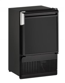 """Marine Series 14"""" Marine Crescent Ice Maker With Black Solid Finish and Field Reversible Door Swing (115 Volts / 60 Hz)"""