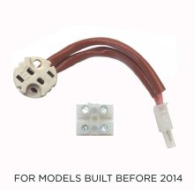 Replacement socket kit for units that use MR16 Halogen Bulb