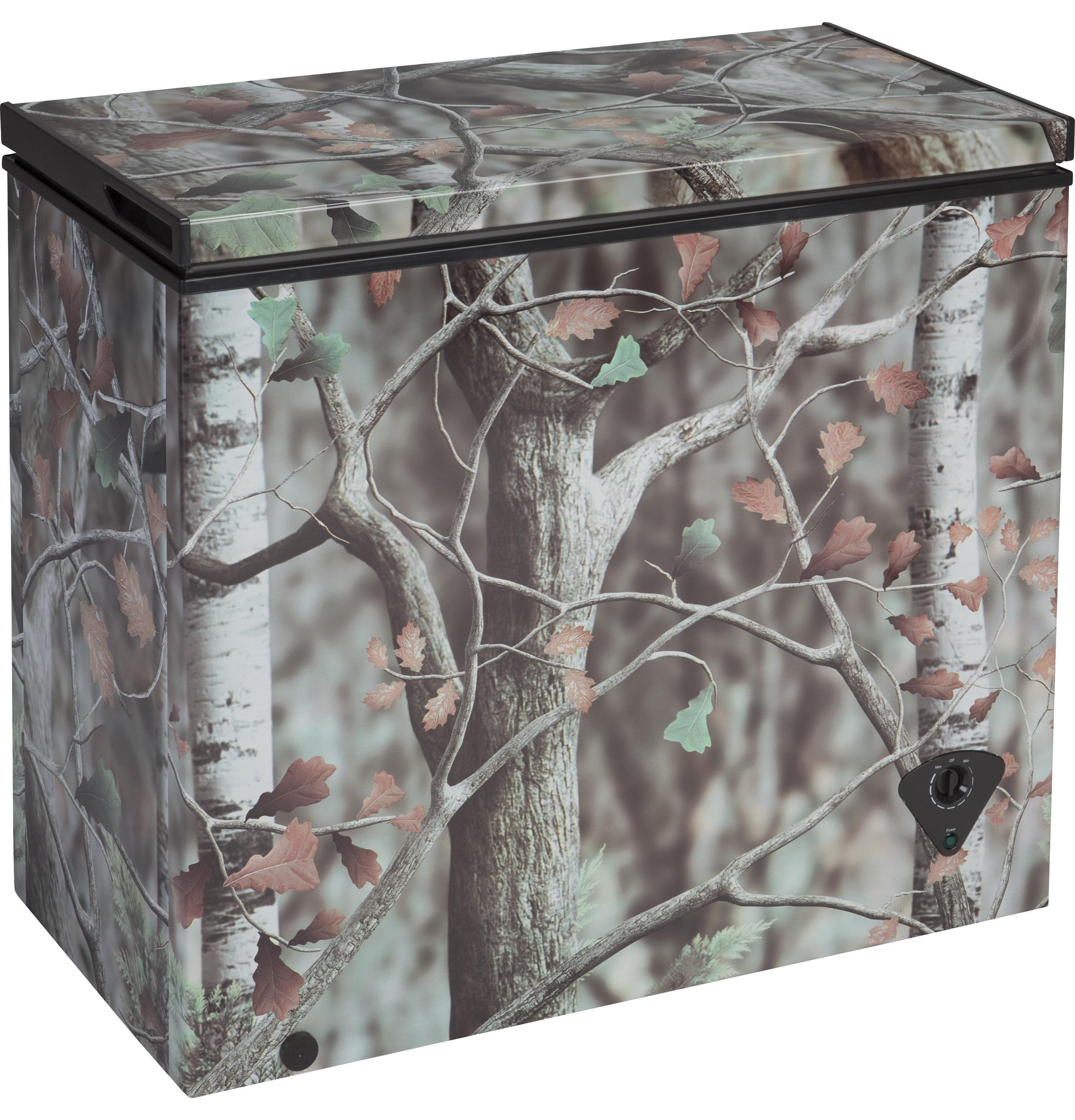 Fcm7ckcd Ge 174 7 0 Cu Ft Camouflage Manual Defrost Chest