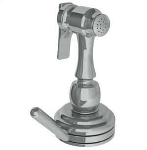 Deck Mounted Independent Side Spray With Integrated Mixer Product Image