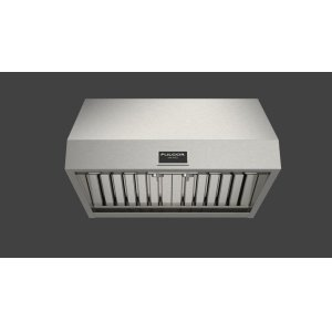 "FULGOR MILANO30"" Pro Hood (1 Fan - Knobs) - Stainless Steel"