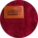 Cover for Pillow Pod or Footstool - Corduroy - Wine Product Image