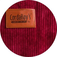 Cover for Pillow Pod or Footstool - Corduroy - Wine