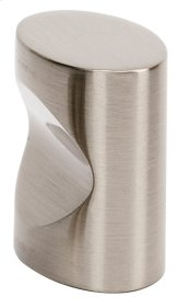 Contemporary III Oval Knob A250-1 - Satin Nickel