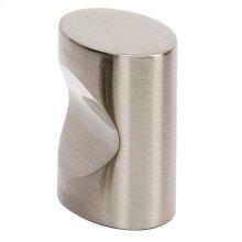 Contemporary III Oval Knob A250-1 - Satin Nickel