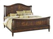 Panel Sleigh Cal King Bed