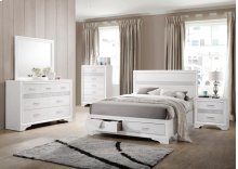 Queen 4 Piece Set (Q.BED,NS,DR,MR)
