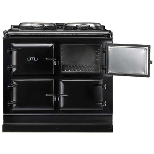 Black AGA Total Control 3-Oven