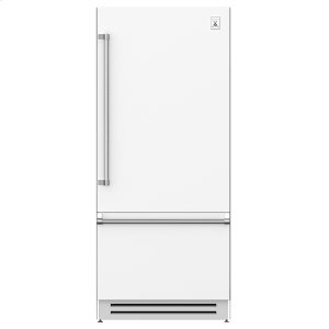 "Hestan36"" Bottom Mount, Bottom Compressor Refrigerator - KRB Series - Froth"