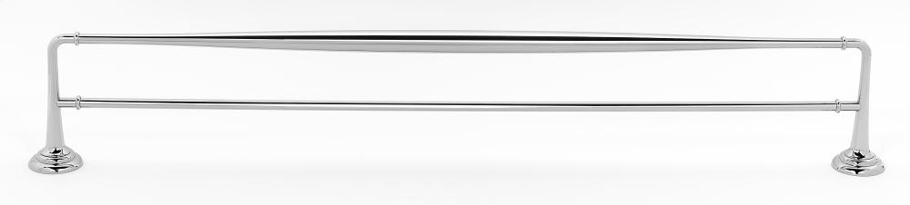 Charlie's Collection Double Towel Bar A6725-30 - Polished Chrome