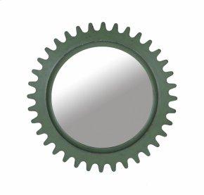 Epicenters Williamsburg Round Mirror - Green
