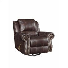 Sir Rawlinson Traditional Tobacco Glider Recliner