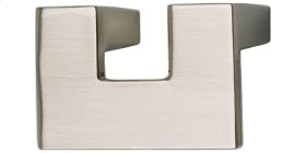 U Turn Knob 1 1/4 Inch (c-c) - Brushed Nickel